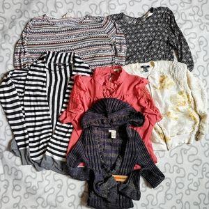 Women's shirt and sweater bundle